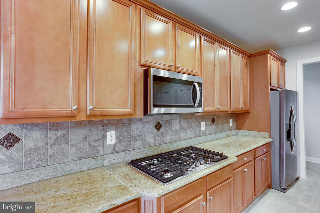 Upgraded Kitchen - 23098 DUCATO CT, BRAMBLETON