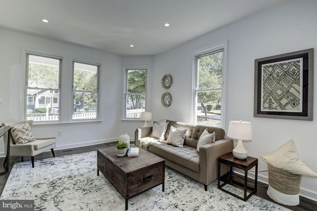 Living Room - 3304 17TH ST NE, WASHINGTON