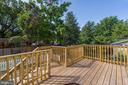 Expansive Rear Deck - 3304 17TH ST NE, WASHINGTON