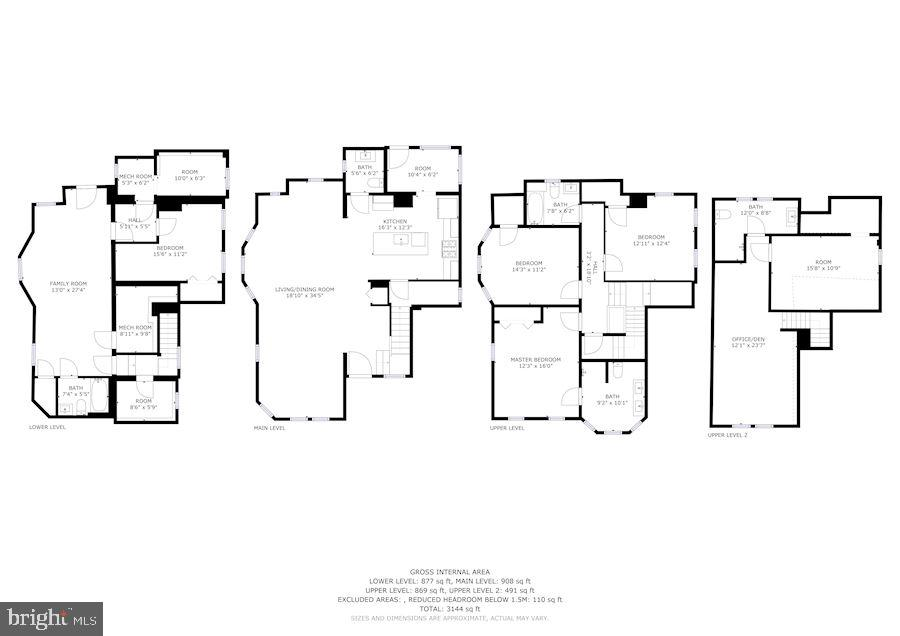 Floor Plan - 3304 17TH ST NE, WASHINGTON