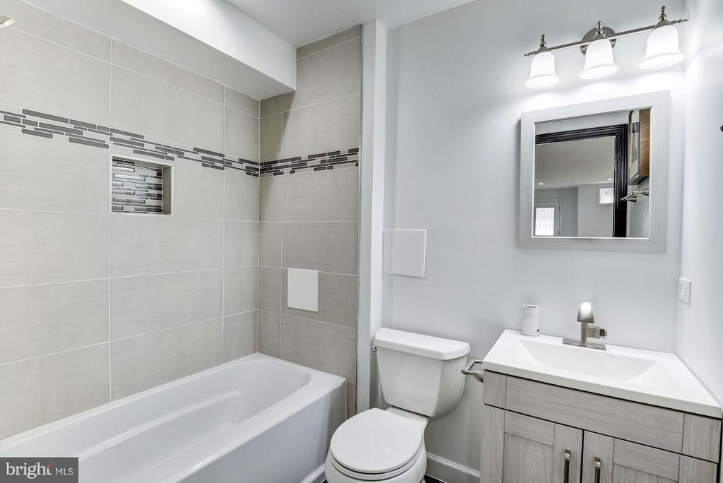 Second Bathroom - 3304 17TH ST NE, WASHINGTON