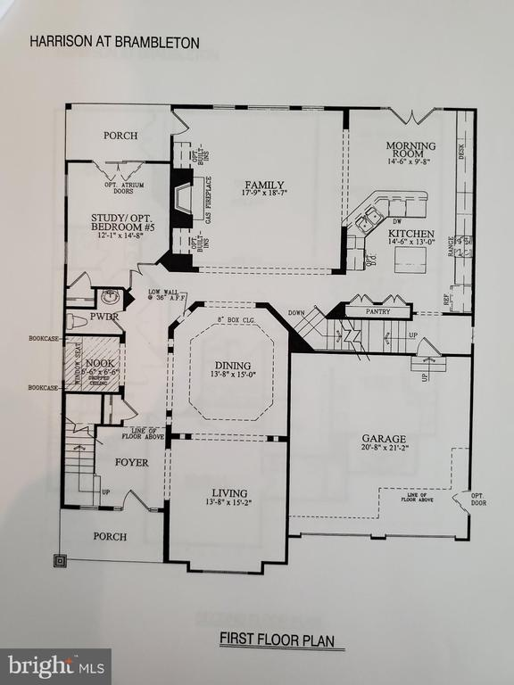 Floor plan - 23098 DUCATO CT, BRAMBLETON