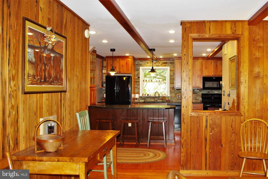View from dining room into kitchen - 21 ANNIES LN, SPERRYVILLE