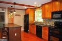 There is ample counter space and plenty of storage - 21 ANNIES LN, SPERRYVILLE