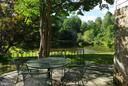 Pond view from the patio - 21 ANNIES LN, SPERRYVILLE