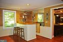 The wet bar features a built-in ice machine - 21 ANNIES LN, SPERRYVILLE