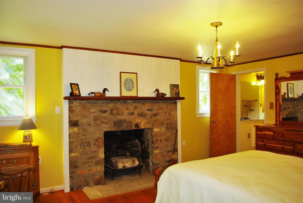 Master features a fireplace and walk-in closet - 21 ANNIES LN, SPERRYVILLE