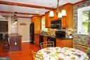 Breakfast area in the kitchen - 21 ANNIES LN, SPERRYVILLE