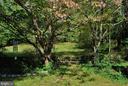 Stone steps towards vegetable garden - 21 ANNIES LN, SPERRYVILLE
