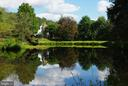 Reflection in the large pond - 21 ANNIES LN, SPERRYVILLE