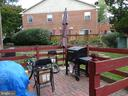 Patio area for grilling and entertaining - 9746 HAGEL CIR #E, LORTON