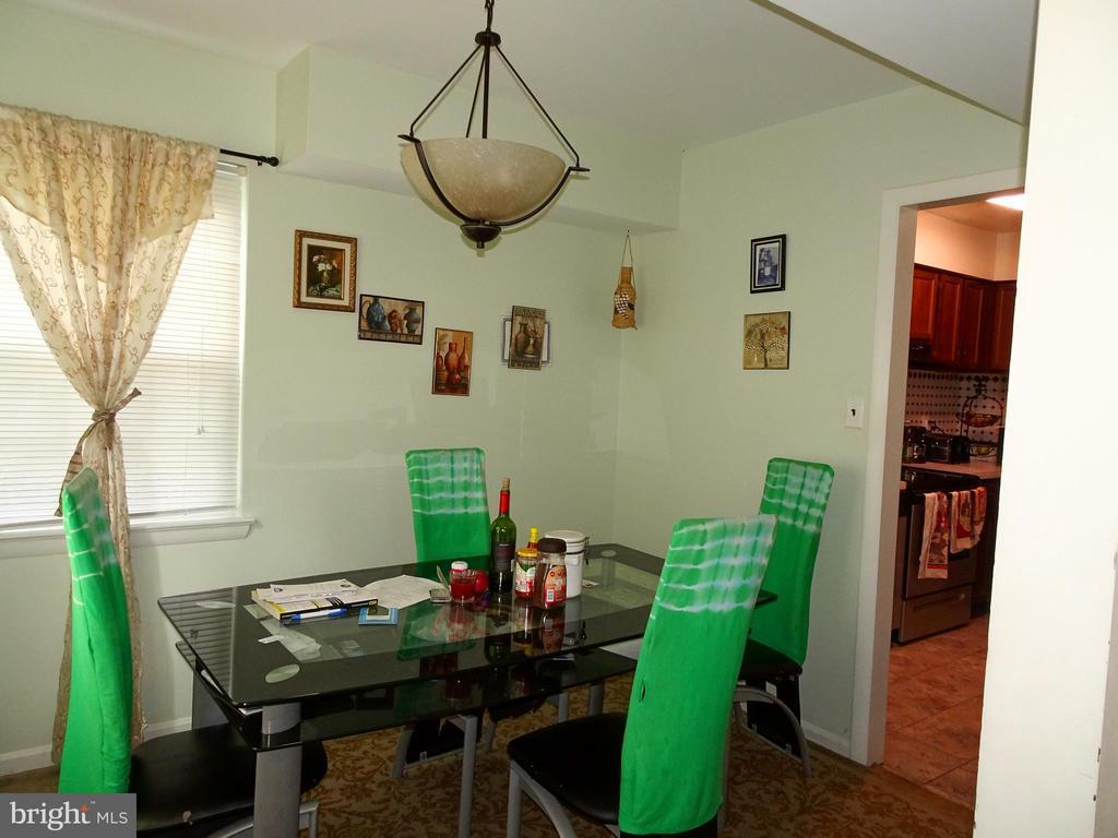 Dining Room - 9746 HAGEL CIR #E, LORTON