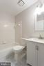 Beautiful tile in the bathroom! - 4990 MARSHLAKE LN, DUMFRIES