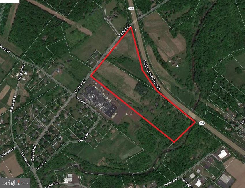أراضي للـ Sale في Sellersville, Pennsylvania 18960 United States