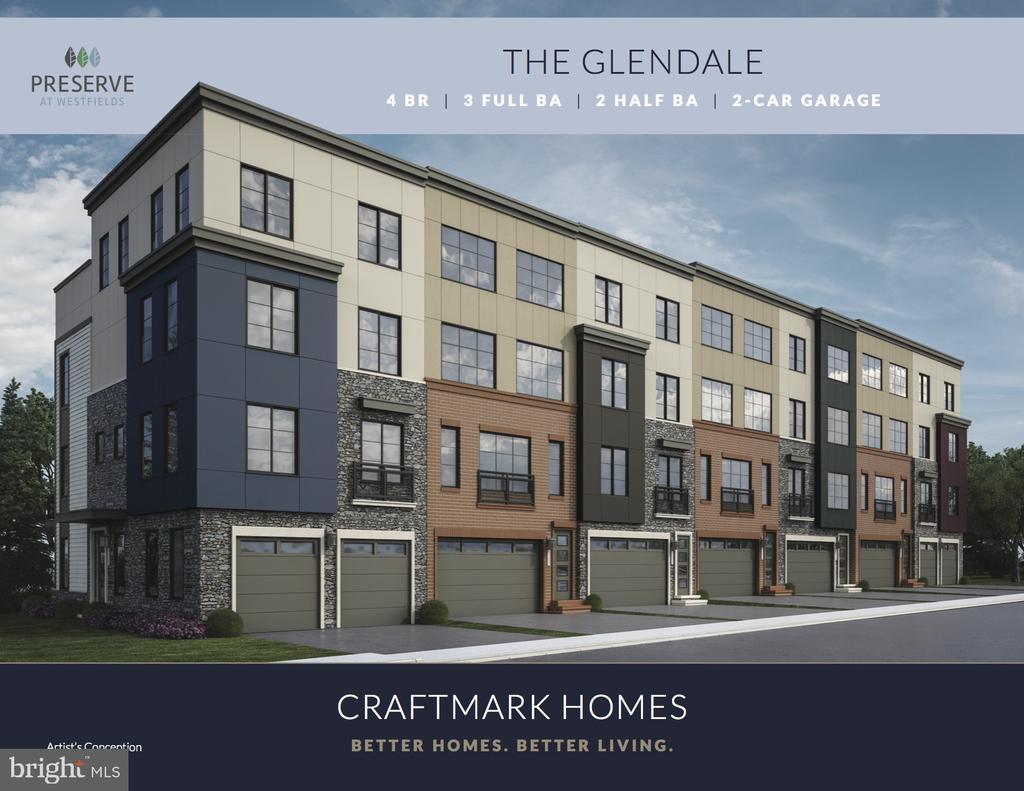 The Glendale Floor Plan - 4904 TRAIL VISTA LN, CHANTILLY