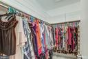 Owners  walk in closet - 10300 LURIA COMMONS CT 3G #3G, BURKE