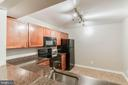 Kitchen is so big! - 10248 APPALACHIAN CIR #1-A3, OAKTON