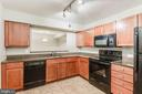 Look at all the countertop space! - 10248 APPALACHIAN CIR #1-A3, OAKTON