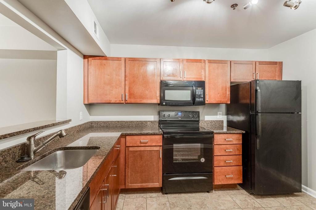 Gleaming countertop and cabinets! - 10248 APPALACHIAN CIR #1-A3, OAKTON