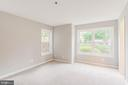 A cute bump out in the master bedroom - 10248 APPALACHIAN CIR #1-A3, OAKTON