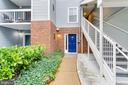 Beautiful walkway right to your door - 10248 APPALACHIAN CIR #1-A3, OAKTON
