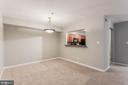 Wonderful pass through from the kitchen - 10248 APPALACHIAN CIR #1-A3, OAKTON