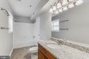Full bath is incredible - 10248 APPALACHIAN CIR #1-A3, OAKTON