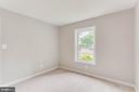 2nd bedroom is nice and bright - 10248 APPALACHIAN CIR #1-A3, OAKTON
