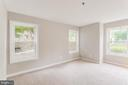 Master bedroom has so much light - 10248 APPALACHIAN CIR #1-A3, OAKTON