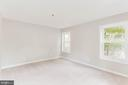 Master bedroom is so spacious - 10248 APPALACHIAN CIR #1-A3, OAKTON