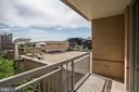 Balcony / View - 1020 N HIGHLAND ST #524, ARLINGTON