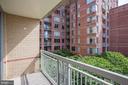 Balcony - 1020 N HIGHLAND ST #524, ARLINGTON