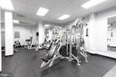 Renovated gym - 5500 FRIENDSHIP BLVD #1409N, CHEVY CHASE