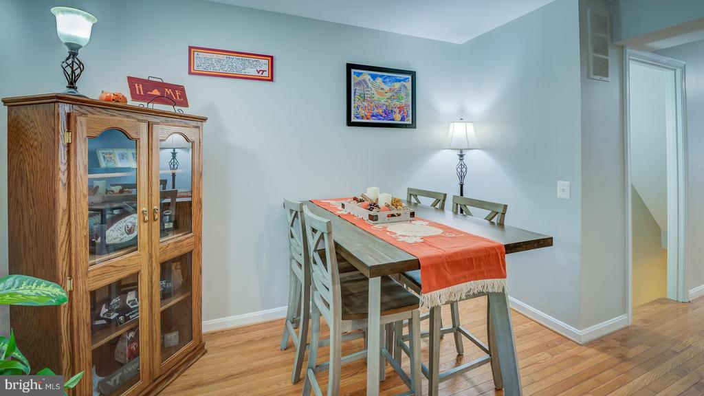 Dining Area - 6041 MEYERS LANDING CT, BURKE