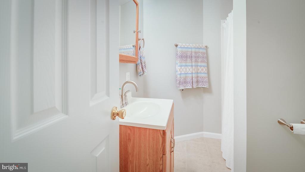 Lower Level  Bath - 6041 MEYERS LANDING CT, BURKE