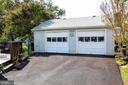 Oversized, heated garage - 1836 GILSON ST, FALLS CHURCH