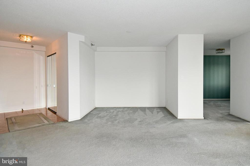 Un-staged view with DR on the right - 900 N STAFFORD ST #2430, ARLINGTON