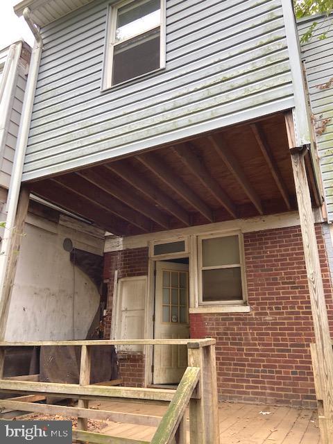 Backyard - 1325 INGRAHAM ST NW, WASHINGTON