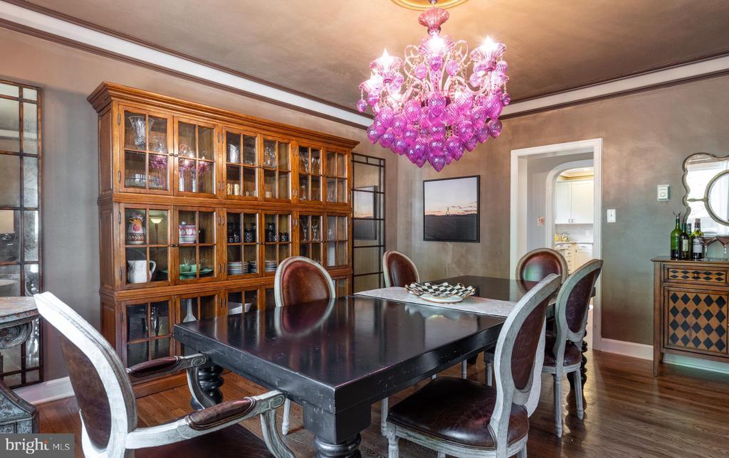 Formal dining room - 830 W BRADDOCK RD, ALEXANDRIA