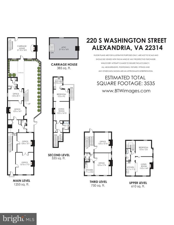 Floors plan - 220 S WASHINGTON ST, ALEXANDRIA
