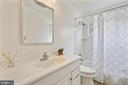 Bathrm with Tub & Shower &  new  everything! - 812 BOWIE RD, ROCKVILLE