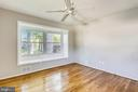 Master BR with  handy window seat - 812 BOWIE RD, ROCKVILLE