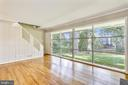 Lots of natural light and a fantantastic view! - 812 BOWIE RD, ROCKVILLE