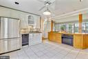 Island with even more cabinet space - 812 BOWIE RD, ROCKVILLE
