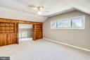 Super size Bedroom #3 - upstairs , with built ins - 812 BOWIE RD, ROCKVILLE