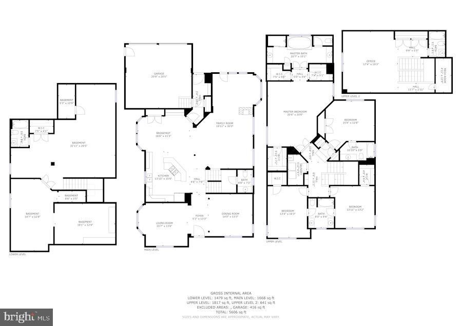 Floor Plans Entire House - 7874 PROMONTORY CT, DUNN LORING