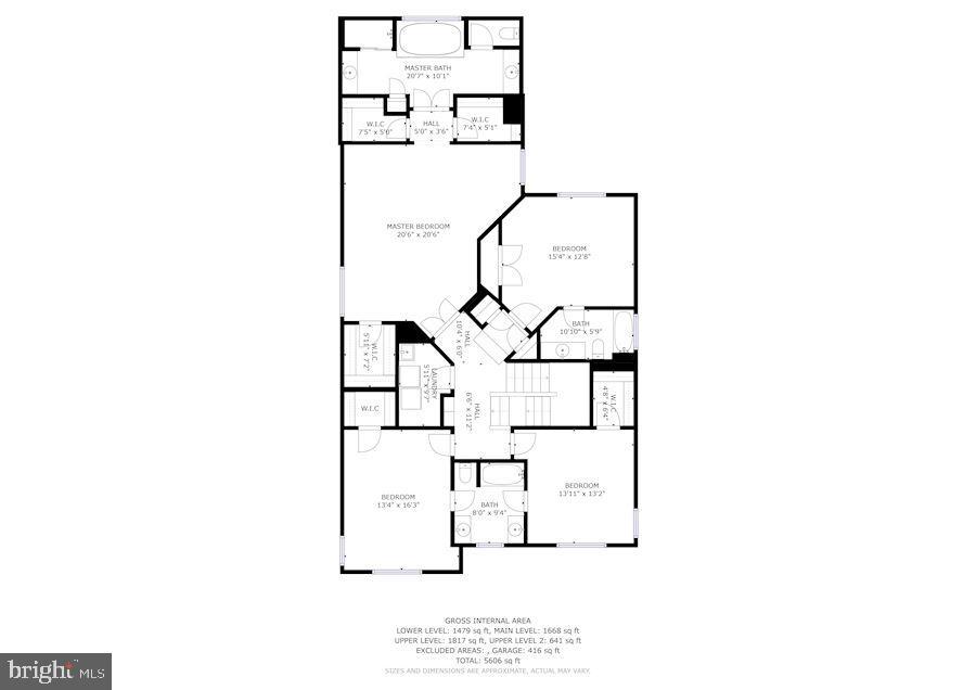 Floor Plan - 7874 PROMONTORY CT, DUNN LORING