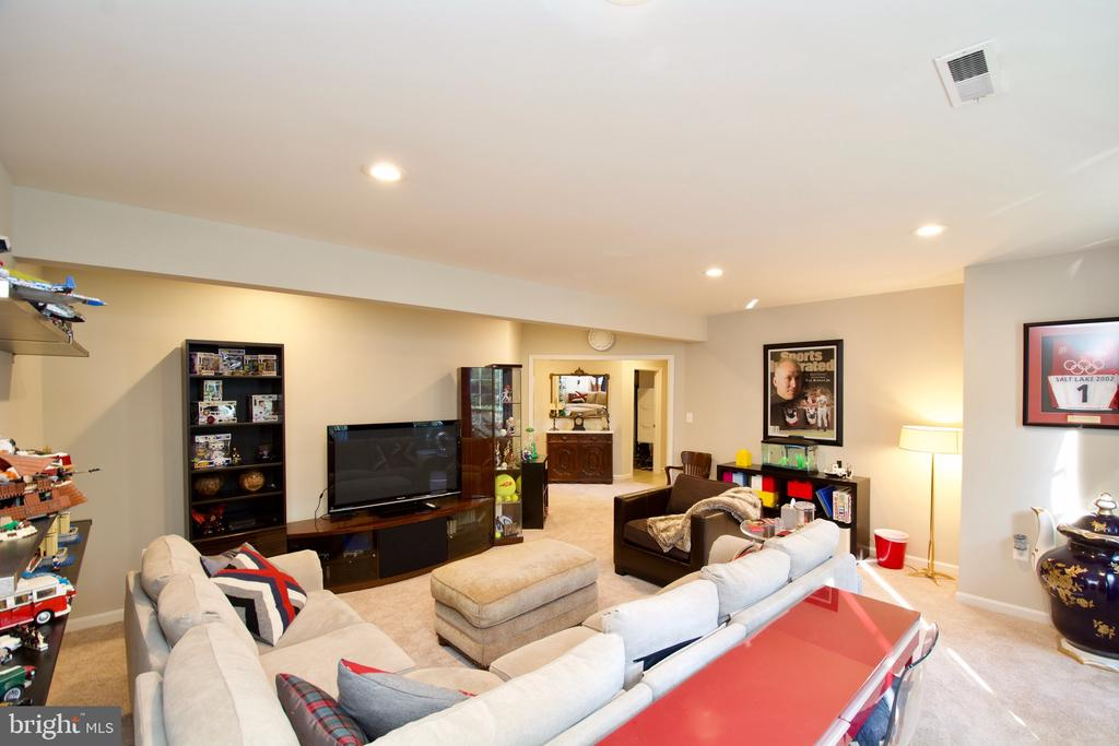 LL Living Room for separate liven areas :) - 5793 VALLEY VIEW DR, ALEXANDRIA