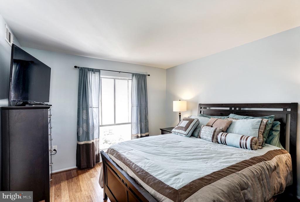 Master Bedroom - Receives Fantastic Sunlight! - 5758 VILLAGE GREEN DR #F, ALEXANDRIA