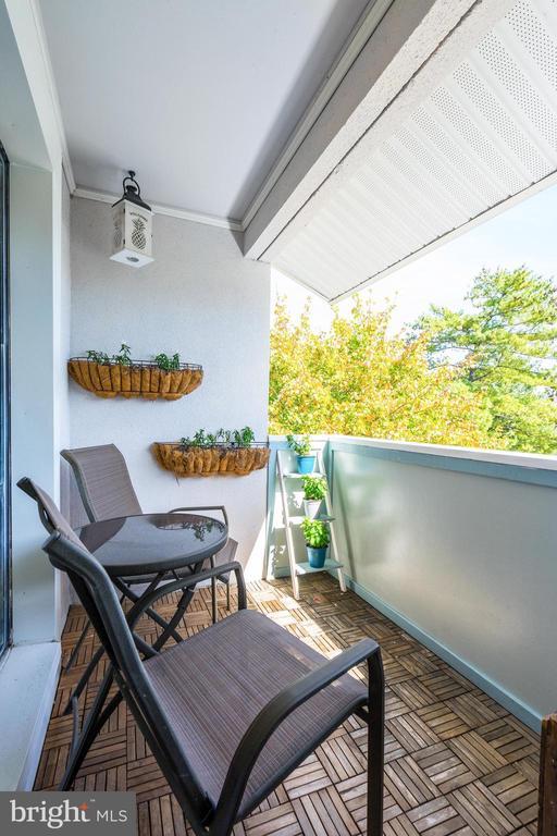 Balcony - Sit Back & Relax! - 5758 VILLAGE GREEN DR #F, ALEXANDRIA